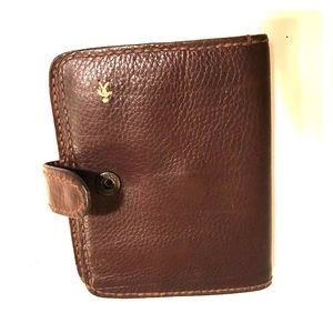 Henry Beguelin Chocolate Leather Wallet